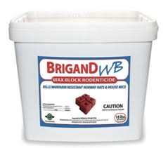 Brigand Wax Block-18 lb Pail